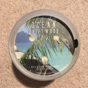 Brand New Bath & Body Works Ocean Driftwood Candle